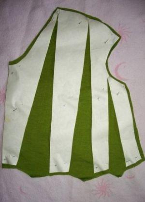 Трикотажное платье своими руками8