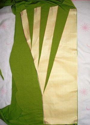 Трикотажное платье своими руками9