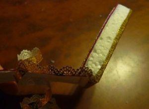 Туфелька из конфет - мастер-класс17