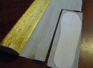 Туфелька из конфет - мастер-класс7