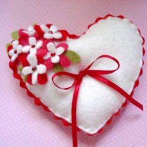 Валентинки из фетра17