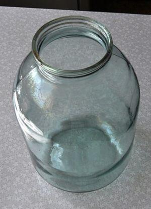 ваза из банки своими руками1