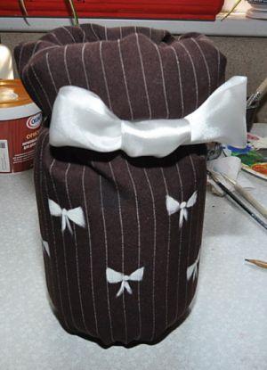 ваза из банки своими руками7