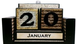 Вечный календарь - декупаж своими руками7