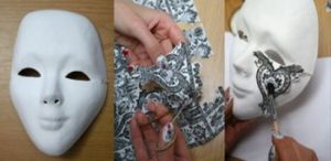 Венецианские маски своими руками22