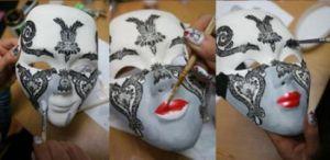 Венецианские маски своими руками23