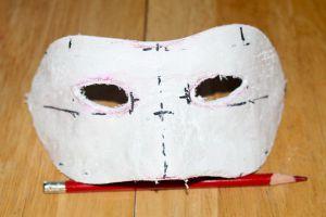 Венецианские маски своими руками6