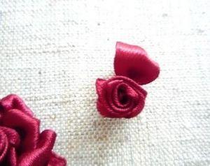 Вышивка лентами розы19