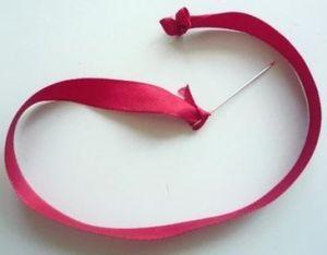 Вышивка лентами розы9