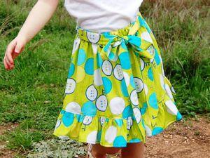 юбка для девочки сшить самой22