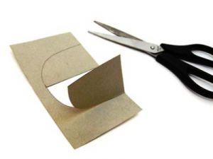 замок из бумаги для детей 5