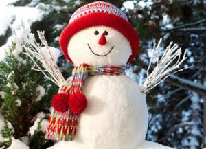 Зимние забавы для детей на улице