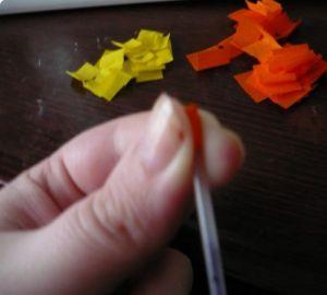 торцевание из гофрированной бумаги картины31
