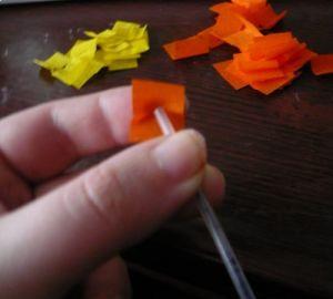 торцевание из гофрированной бумаги картины3