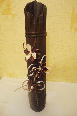 вазы из газетных трубочек23