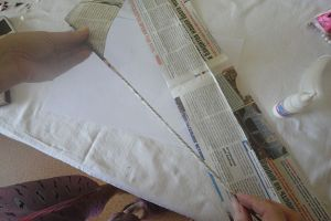 вазы из газетных трубочек3
