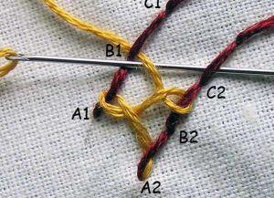 бэкстич в вышивке 29