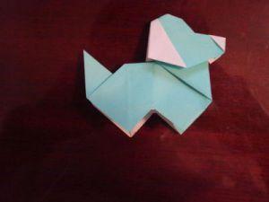 как сделать из бумаги собаку_54