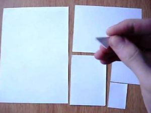 поделки из модулей оригами легко 4