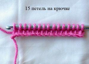 Тунисское вязание крючком 17