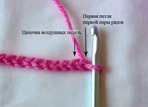 Тунисское вязание крючком 4