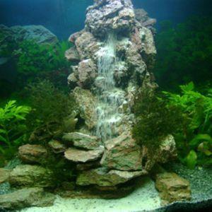 Водопад в аквариуме своими руками15