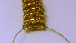 змея из бисера16