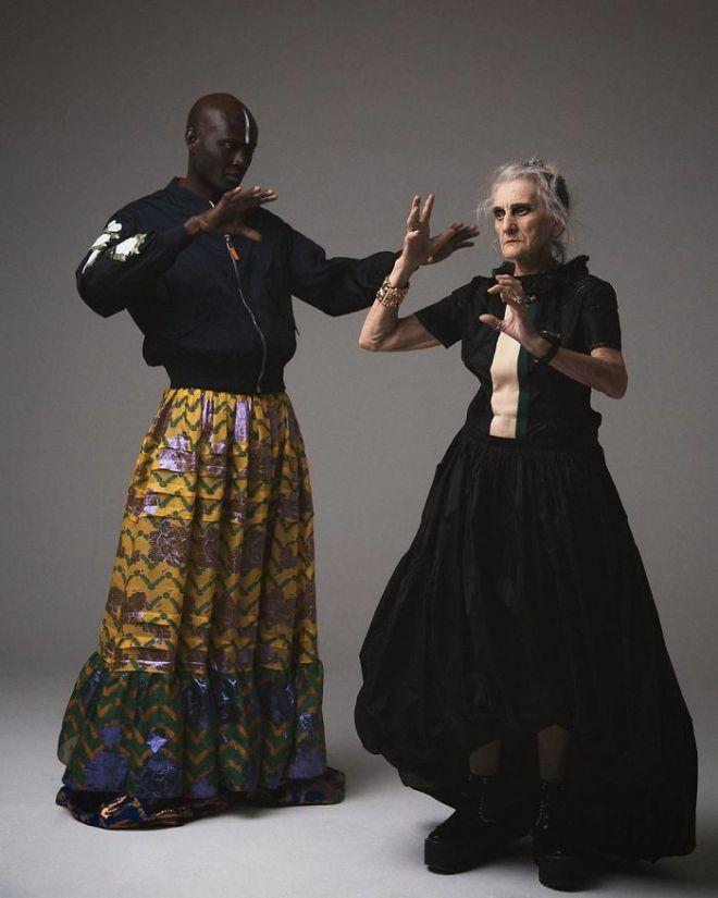 Валерия с афроамериканским мужчиной