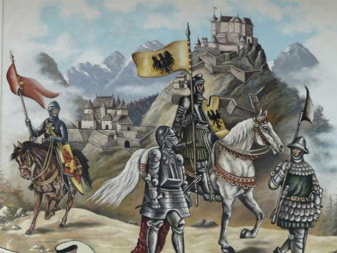 Нарисованные рыцари