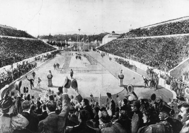 1896 марафон в карете