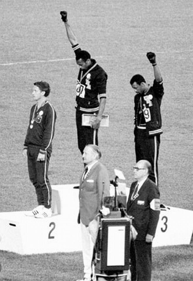 1968 чернокожий салют
