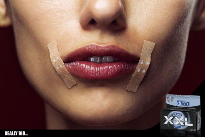Пластырь по уголкам губ