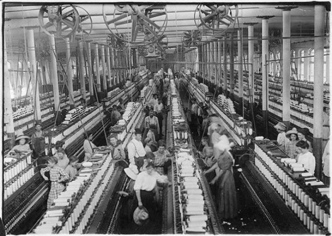 industrial revoloution The industrial revolution involved the transformation of a technology resting heavily on human and animal labor into a technology characterized by machines.