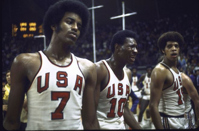 1972 скандальный баскетбол