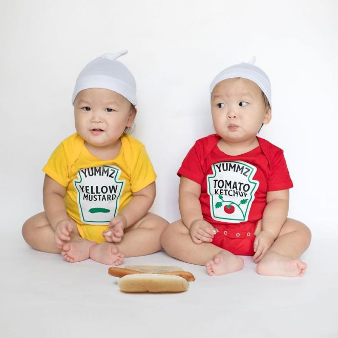 кетчуп и горчица