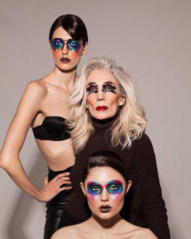 Ирина Белишева с ярким макияжем