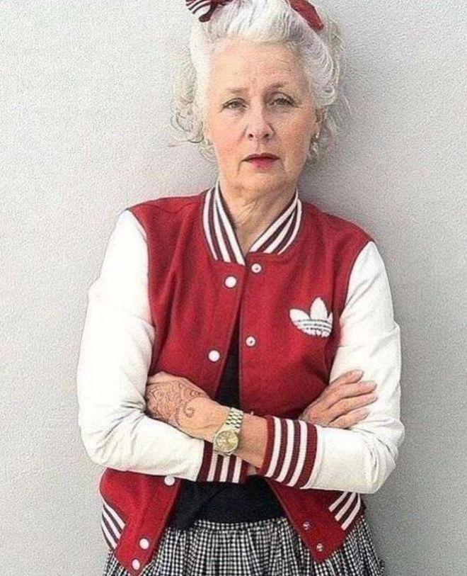 Икона моды в 62 года.
