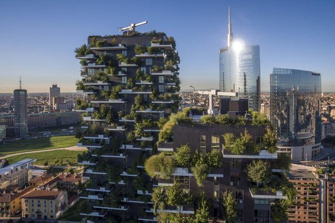 Вертикальные леса-небоскребы, как панацея от экологической катастрофы