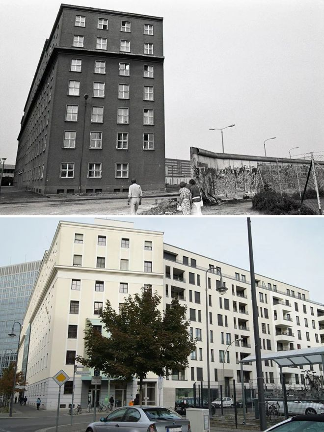 Фото-проект: «Как менялся Берлин»
