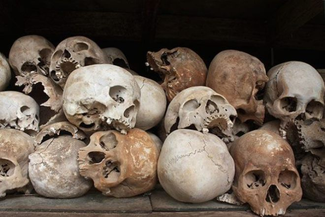 post traumatic stress among the victims of cambodian genocide and khmer rouges reign