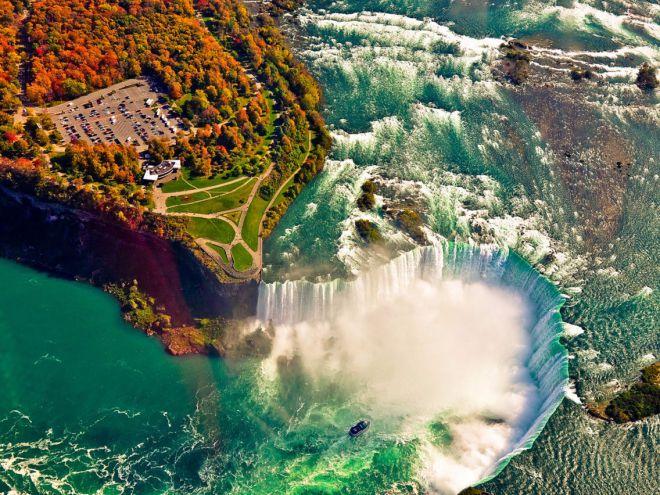 Ниагарский водопад Нью-Йорк, США