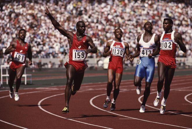 1988 допинг на стометровке