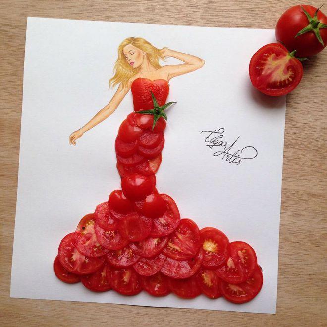 Кто б мог подумать, что помидоры будут так стройнить