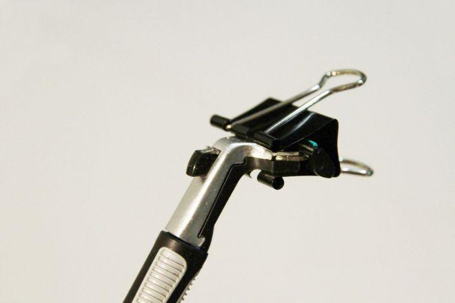 офисная клипса для бритв