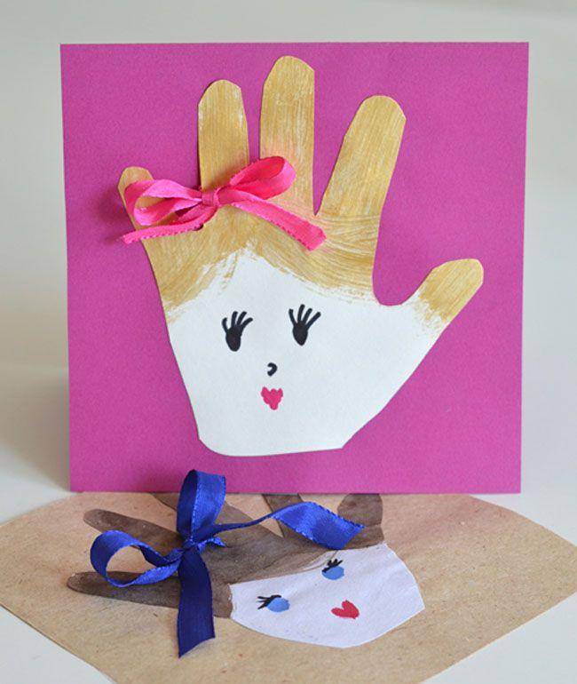 Какой подарок сделать своими руками ко дню матери