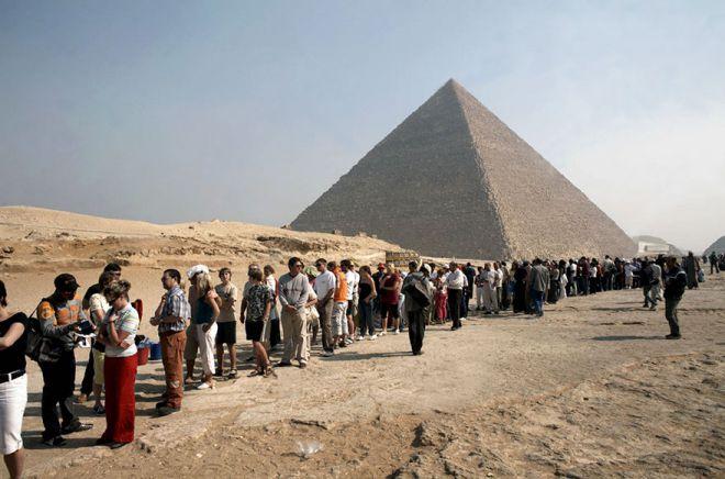 пирамиды реальность
