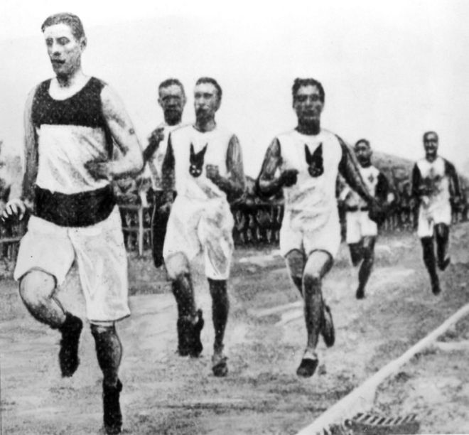 1904 марафон в автомобиле