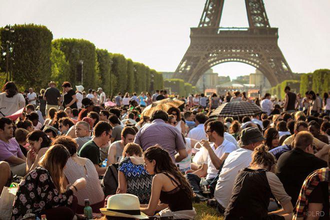 Париж реальность
