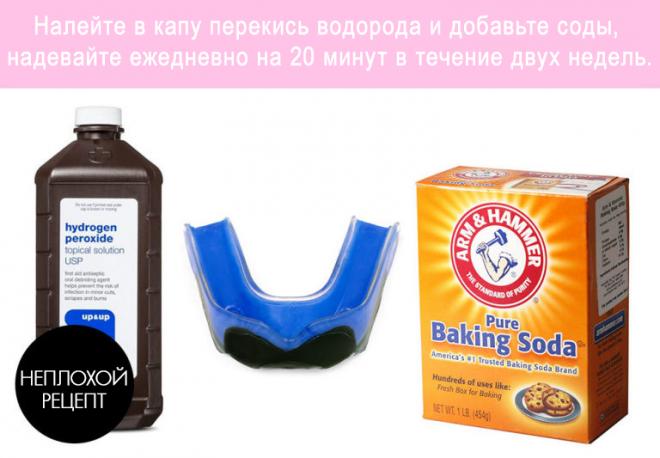 Сода и перекись
