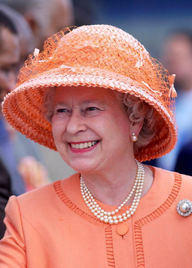 Королева в оранжевом